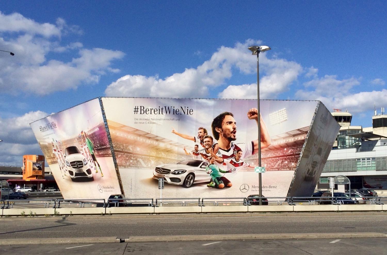 Mercedes Werbung