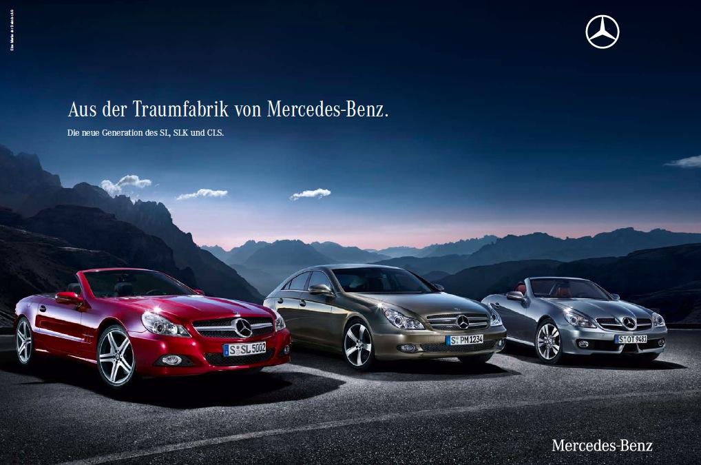 Mercedes Markenkampagne