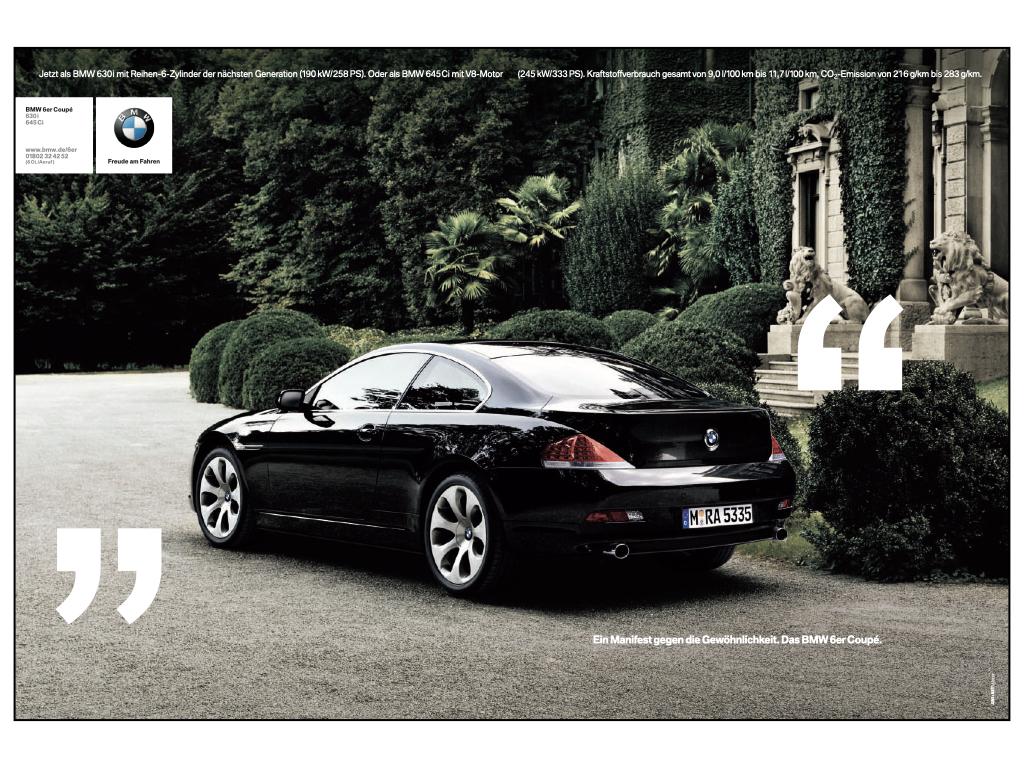 freier Texter Auto BMW