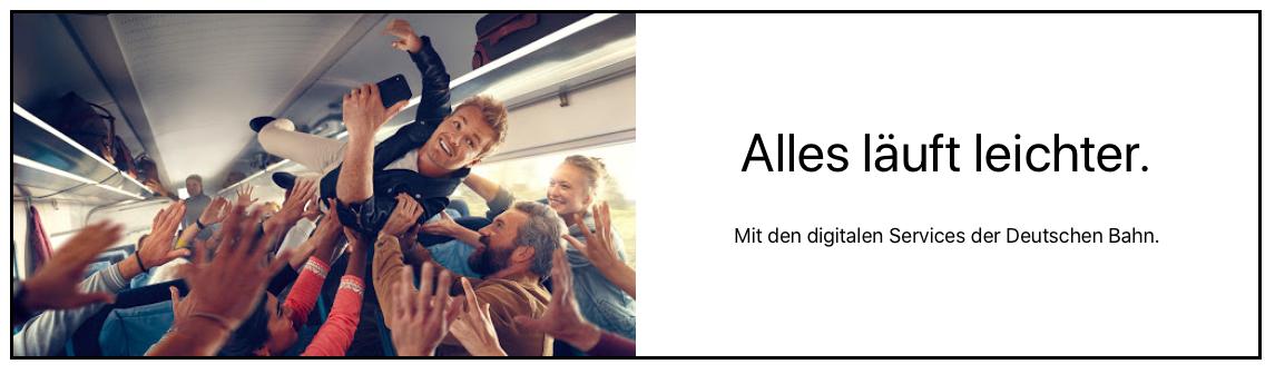 freier Texter Deutsche Bahn