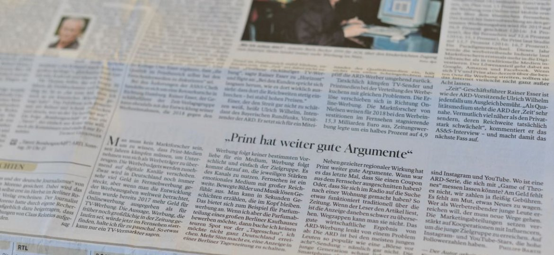 print hat gute argumente