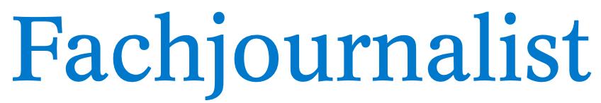 Der Fachjournalist Logo